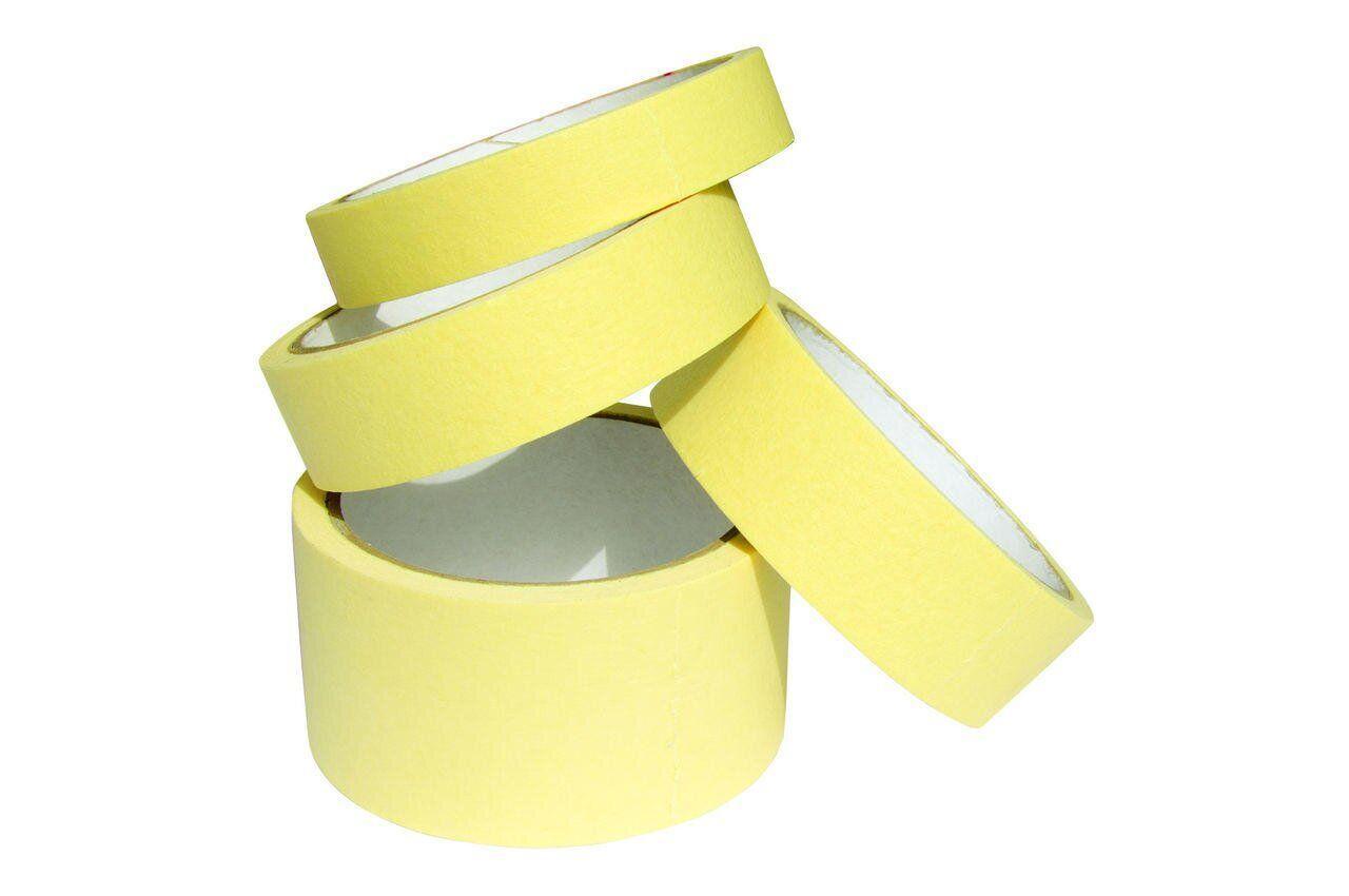Малярная лента 24 мм х 25 м желтая (242524)