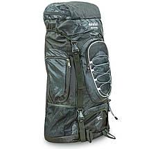 Рюкзак туристический бескаркасный DTR 60+10 литров 517-D (полиэстер, нейлон, размер 59х30х22см, цвета в, фото 2