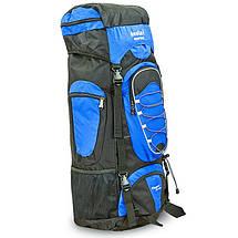 Рюкзак туристический бескаркасный DTR 60+10 литров 517-D (полиэстер, нейлон, размер 59х30х22см, цвета в, фото 3