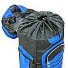 Рюкзак туристический бескаркасный DTR 60+10 литров 517-D (полиэстер, нейлон, размер 59х30х22см, цвета в, фото 5