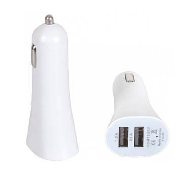 Зарядка от прикуривателя для телефона YZS-04 8*3.5 см, USB зарядка в авто | автомобільна зарядка для телефона