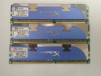 Модуль памяти Kingston HyperX, KHX3200AK2/2G, (2*1Gb), 400MHz, для ПК