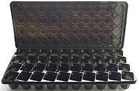 Парничок - кассета для рассады с поддоном и крышкой, 40 ячеек