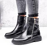 Ботинки женские Iolit черные 2969, фото 4