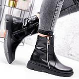 Ботинки женские Iolit черные 2969, фото 6