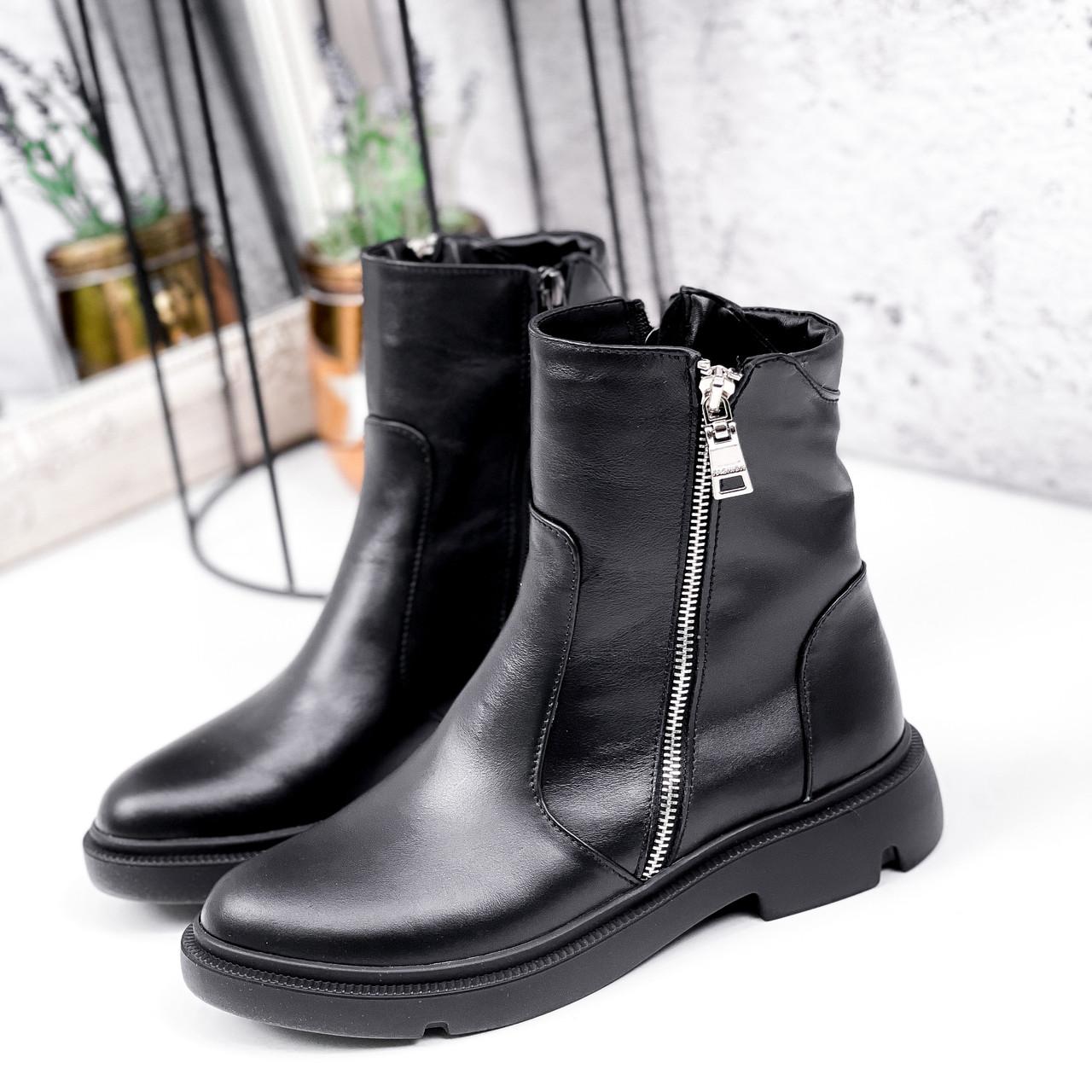 Ботинки женские Iolit черные 2969