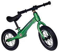 Беговел детский Maraton Junior (зелёный металлик)