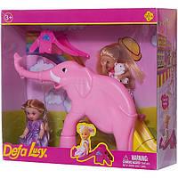 Кукла DEFA 8277 (Фиолетовый)