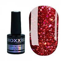 Гель-лак Oxxi Professional Star Gel №1 (гранатовый красный, глиттерный), 10 мл