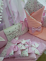 Детский постельный комплект в кроватку Bonna Бант (одеяло-конверт)