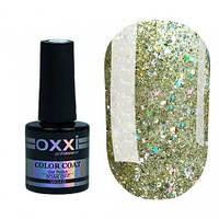 Гель-лак Oxxi Professional Star Gel №2 (светлый золотистый, глиттерный), 10 мл