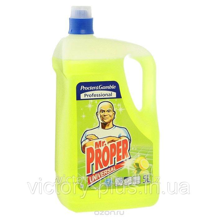Средство для мытья полов MR. PROPER 5Л ЛИМОН универсальное
