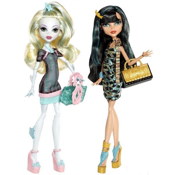 Набір Клео і Лагуна подорож в Скариж Місто Страхів монстер хай Monster High Lagoona Blue and Cleo Scaris