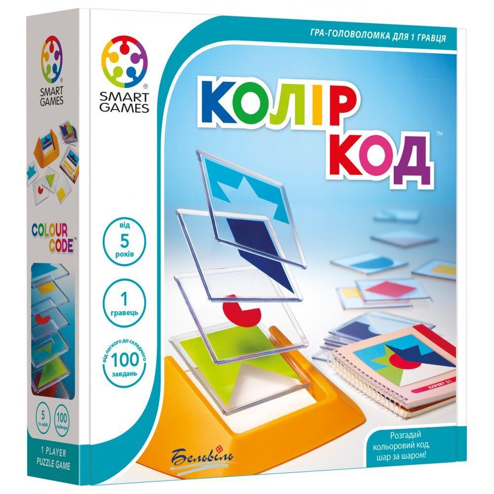 Настольная игра Smart Games Цвет Код (SG 090)