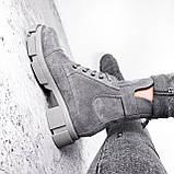 Ботинки женские Rebeca серые ДЕМИ 2966, фото 9
