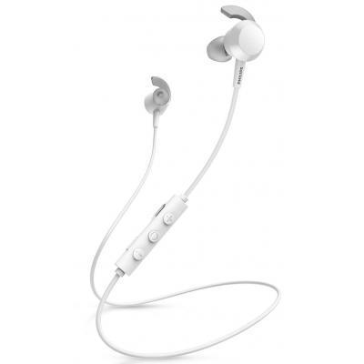 Наушники PHILIPS TAE4205WT In-ear Mic Wireless White (TAE4205WT/00)