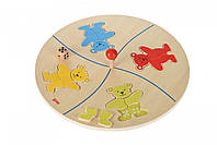 Настольная игра goki Веселые мишки 56941G, фото 1