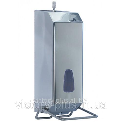 Дозатор жидкого мыла 1,2 л Inox металлик