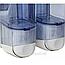 Дозатор жидкого мыла 0,17 л *2 Acqualba, фото 2