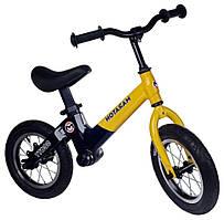 Беговел  с 12 дюймовыми колёсами Maraton Scott детский (жёлтый)