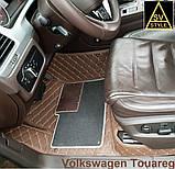 Тюнінг Volkswagen Touareg (2011-2017) Килимки з Екошкіри 3D Фольксваген Туарег Таурег, фото 8