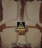 Тюнінг Volkswagen Touareg (2011-2017) Килимки з Екошкіри 3D Фольксваген Туарег Таурег, фото 5