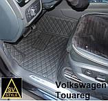 Тюнінг Volkswagen Touareg (2011-2017) Килимки з Екошкіри 3D Фольксваген Туарег Таурег, фото 6