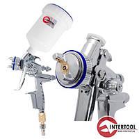 Краскопульт пневматический HVLP-II Intertool  PT-0105