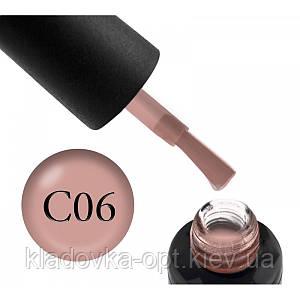 Камуфлююча база Oxxi Professional №06 (бжево-рожева), 10 мл