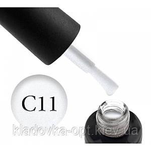 Камуфлююча база Oxxi Professional №11 (біла з мікроблиском), 10 мл