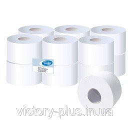 Туалетний папір в рулоні JUMBO
