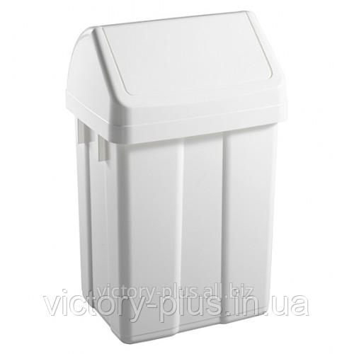 Урна для мусора с поворотной крышкой 25л Maxi