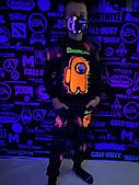 Дитячий світиться костюм унісекс AMONG.US без планет +маска в подарунок
