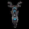Электрический мопед  CITY gy-4 350W/48V/20AH(MG) (серо-голубой), фото 2