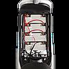 Электрический мопед  CITY gy-4 350W/48V/20AH(MG) (серо-голубой), фото 5