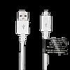 Зарядное устройство LP АС-012 USB 5V 2.4A + кабель micro USB/ОЕМ 1.5 м White, фото 3