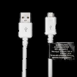 Кабель USB - micro USB 1.5 м (2.1А) OEM White