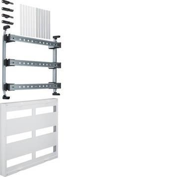 Блок Hager Univers UD32B1, 6 шин TS35 6х12мод., для модульных аппаратов, 450x500