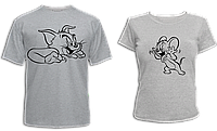 """Парные футболки """"Том и Джерри"""", фото 1"""