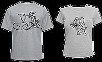 """Парные футболки """"Том и Джерри"""""""