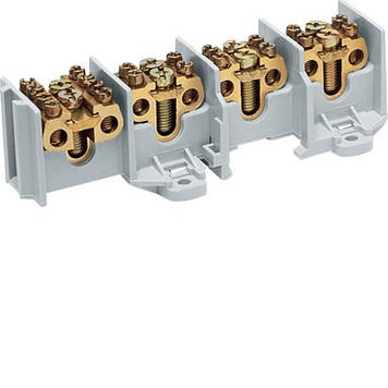 Клеммник вводно-распределительный Hager K65А на 4-полюса,100А на полюс, 35мм2