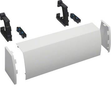 Кожух Hager FZ442N для ввода кабельных каналов в щиты Univers 160/205мм глубиной, ширина 550мм