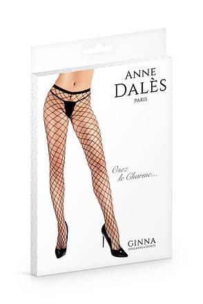 Колготки в крупную сетку Anne De Ales Ginna T3, фото 2