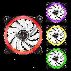 Вентилятор 3pin + 4 pin 120 мм (Molex питание) LP 12 RGB (8800)