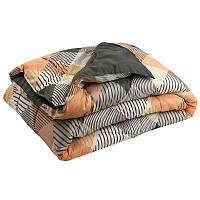 """Силиконовое одеяло """"ромб"""" в полиэстере 140х205 см Руно"""