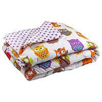 """Силиконовое одеяло """"совы"""" 172х205 см Руно"""