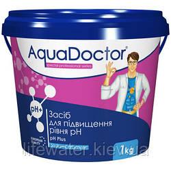 Средство для повышения уровня pH в гранулах AquaDoctor pH Plus (1кг)