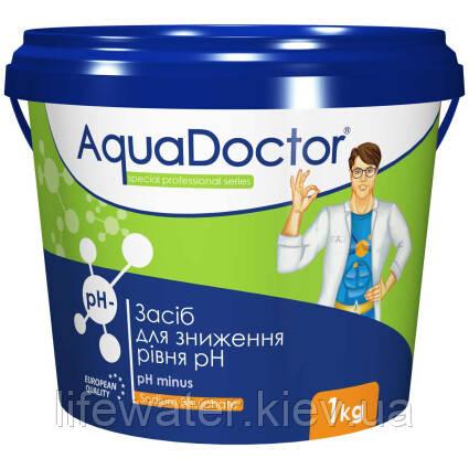Средство для снижения уровня pH гранулы AquaDoctor pH Minus (1кг)