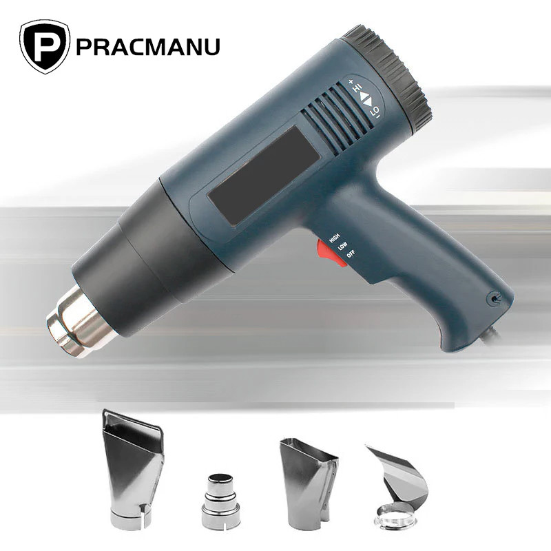 Промышленный фен с насадкой PRACMANU RFQ12