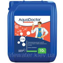 Гипохлорит натрия жидкий хлор AquaDoctor C-15L (10л)
